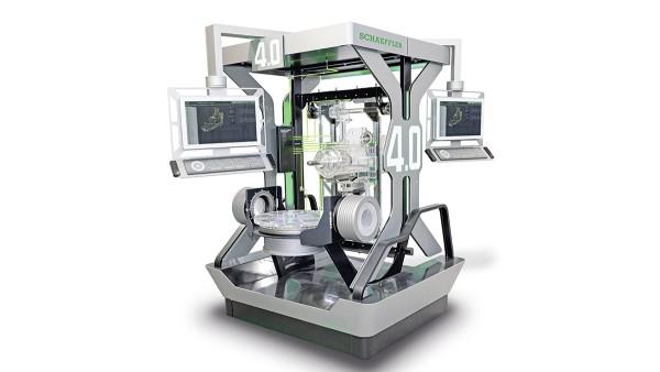 Verktygsmaskin 4.0 kopplar ihop befintlig teknik, från sensor till molnet, och för in nya digitaliserade komponenter.