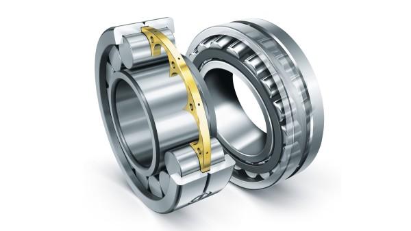Cylindriska rullager och sfäriska rullager från Schaeffler uppfyller de extrema kraven på entreprenadmaskinernas område.