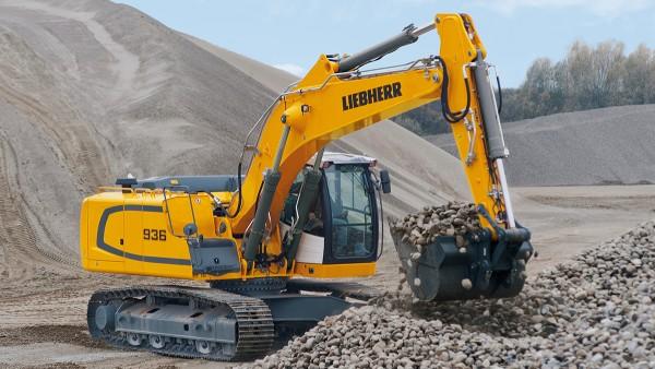 Entreprenadmaskiner, som bandgående grävmaskiner, ställer varierande krav på lagren.