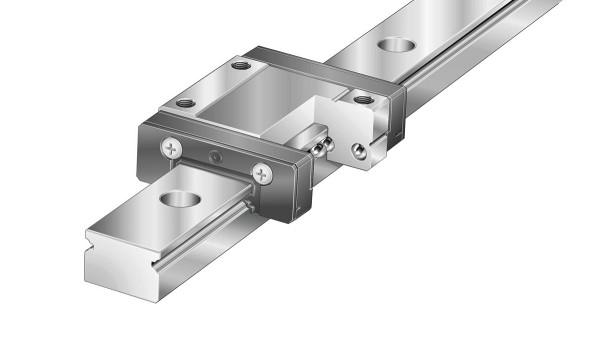 Schaeffler linjärstyrningar  Tvåradiga kullagrade miniatyrskenstyrningar