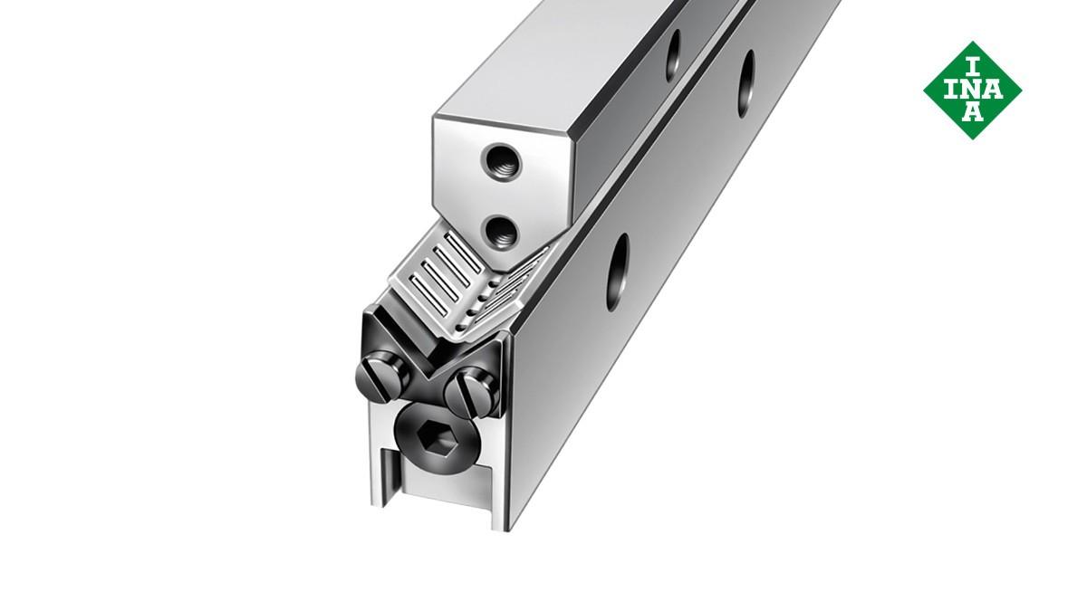 Schaeffler linjärstyrningar  M-/V-styrskenor med vinklat band