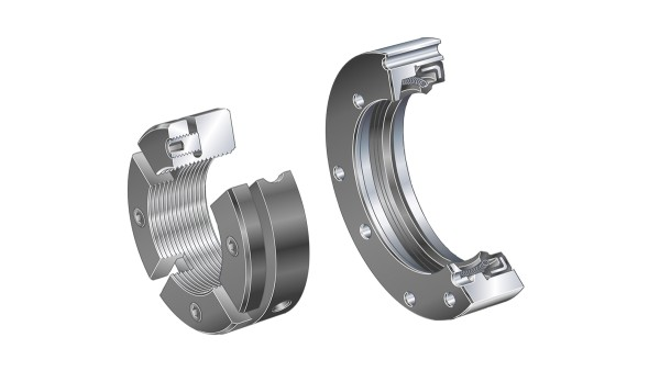 Schaeffler rullningslager och glidlager: Tätningsbärare/precisionsmuttrar
