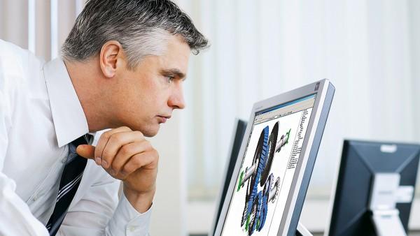 Schaeffler lägger stor vikt vid partnersamarbete, till exempel för beräkning och utformning av lager.