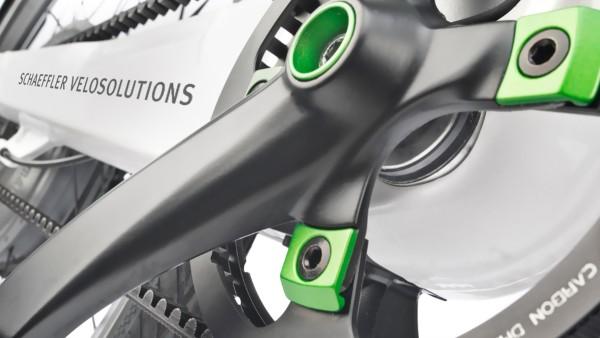 Schaefflers lösningar för lågemitterande fordon, cyklar och sport: Schaeffler Smart E-Bike