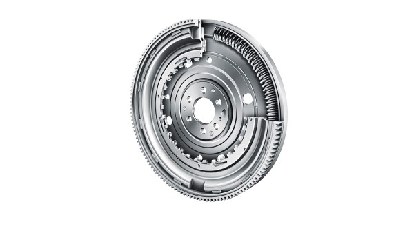 Dual mass flywheel