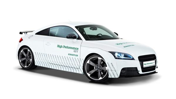 Schaeffler High Performance 48 Volt Concept Vehicle