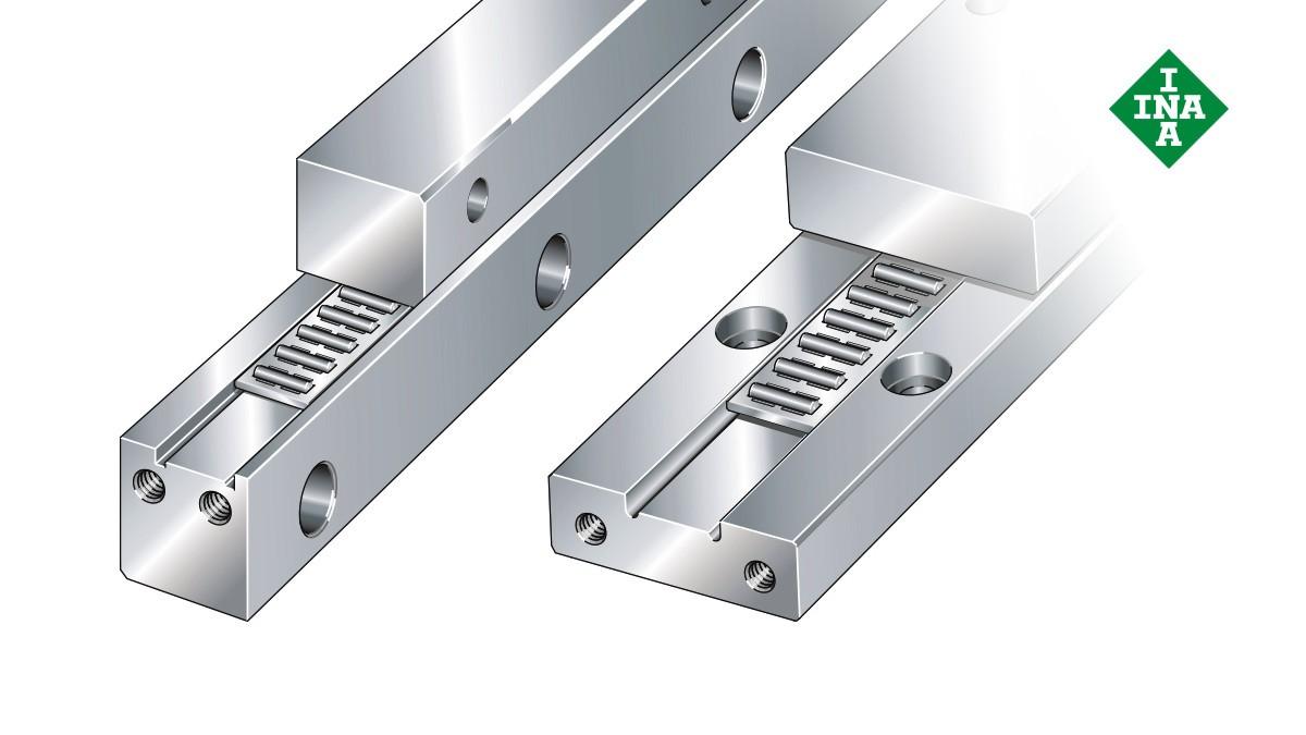Schaeffler linjärstyrningar  J-/S-styrskenor med nålrullband